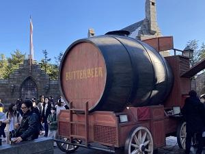 usj1204バタービール 屋台