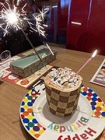 ブロンコビリー お誕生日ケーキ