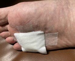 足の裏 絆創膏